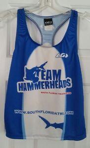 Louis Garneau Running Triathlon Shirt Top Jersey  - Womens size Medium