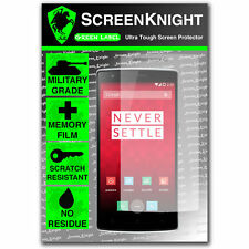 ScreenKnight Oneplus One Front SCREEN PROTECTOR invisible military grade shield