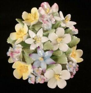 Vintage Royal Doulton Bone China Springtime Flower Posy Bouquet Excellent