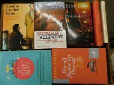 40 Bücher Hardcover Romane Sachbücher verschiedene Themen Paket 6