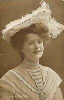 ACTRESS, Miss Billie Burke [Glitter outlines] (Davidson Brothers, no.6148) 1900s
