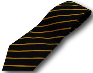 School Uniform Ties - Narrow Stripes - Adult Sizes - Many Colour Combinations