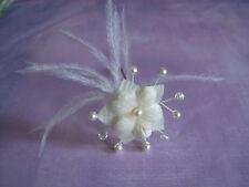 Pic/accessoire/pingle Cheveux Mariée/Mariage/Cérémonie Beige clair/cristal fleur