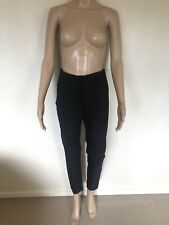 Forever New Black High Waist Tailored Pants Size 10 $89.95