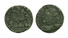 pcc1377_53) Ferrara Paolo  V  (1605-1621) Quattrino con Cavaliere e Drago