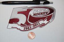 Colgate Raiders ECAC Hockey 5 5/8 Patch 50th Anniversary 1961-2011 College