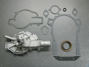 400 401 425 Buick Water Pump with timing cover gaskets 1962 1963 1964 1965 1966