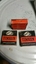 TIMKEN 11300 CUP MADE IN THE USA.  (LOT OF THREE )