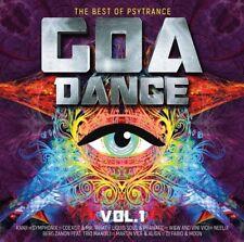 GOA DANCE VOL.1 THE BEST OF PSYTRANCE, RANJI,SYMPHONIX,NEELIX  2 CD NEU