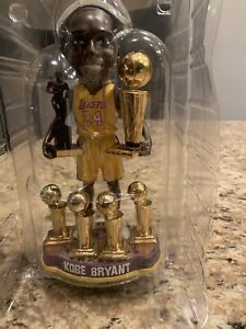 Forever Collectibles 2012 NBA rare Kobe Bryant 6 Trophies Bobblehead # /300 NIB