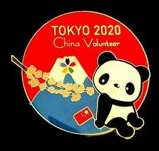 New ListingRare Official China Volunteer Panda Tokyo 2020 2021 Olympic Games Pin Japan
