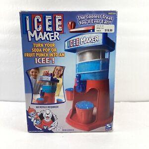 Retro Icee Maker Slushy Machine by Spin Master 2002 Complete w/ Box