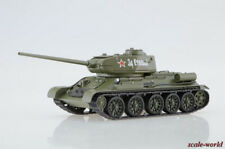 2Soviet medium tank T-34-85 Scale of the model 1/43