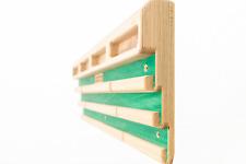Awesome Woodys Home Boy - Minimal Edge Wood Hangboard - Climbing Training