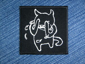 Radiohead band logo embroidered patch.Crying Minotaur patch. Alternative rock.