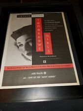Donald Fagen Tomorrows Girls Rare Original Radio Promo Poster Ad Framed! #2