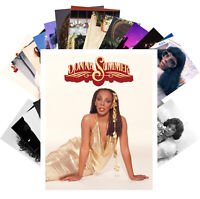 Postcards Pack [24 cards] Donna Summer Disco Pop Music Vintage Posters CC1297