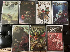CANTO Low Print & Variant Set ! Very Cool Set ! All 9.6-9.8 ! Key Issues !