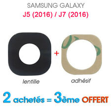 OEM Trasero Cámara Cristal Lente + Adhesivo para Samsung Galaxy J5 (2016) / J7