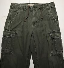 Cargo Supply Cargo Pant Men's 38X32 Adjustable Waist Green