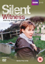 SILENT WITNESS - SERIES 5 AND 6 - DVD - REGION 2 UK