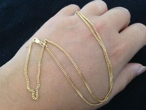 18ct Yellow Gold Necklace / Chain - 3.37 grams