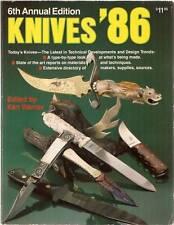 KNIVES '86, KEN WARNER, GUN DIGEST BOOKS, NEW SCARCE BOOK ON SALE CHEAP $74.95