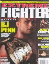 1/09 EXTREME FIGHTER BJ PENN NICK LEMBO JOSH BARNETT KARATE KUNG FU MARTIAL ARTS
