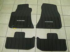 2011 - 2017  Dodge Challenger Slush Style Winter Floor Mats, Rubber
