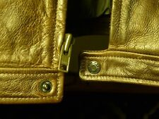 J CREW Men's Brown Leather Coat Jacket XXL 2XL