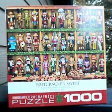 Christmas 1000 Piece Jigsaw Puzzle - Nutcracker Sweet (19 1/4'x 26 5/8') Eurogra