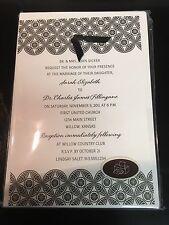 Hallmark Wedding Invitations Kit, Printable, Brand New, 10 Count