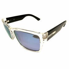 NEW Hoven Vision Mosteez Sunglasses – Clear & Black Frame – POLARIZED Sky Blue