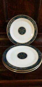 4 royal doulton carlyle dinner plates