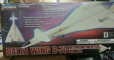 Lindberg Delta Wing B-70 Intercontinental Bomber 1/180 Scale Model Kit MIB
