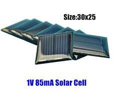 50PCS 1V 85mA Mini Small Poly Solar Cell Solar Panel for Toys DIY 30*25MM