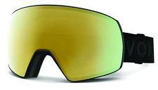 NEW Von Zipper Satellite Goggles-BKD Black Satin-Gold Chrome+Bonus-SAME DAY SHIP