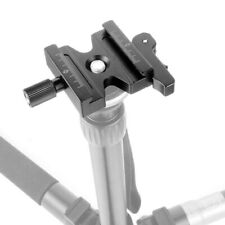 """CL-50LS Quick Release QR Clamp 1/4""""& 3/8"""" Screw for Arca Swiss QR Plate"""