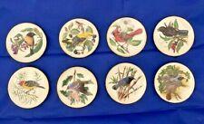 Set of 24 Mini Songbirds of the World Plates - Franklin Porcelain