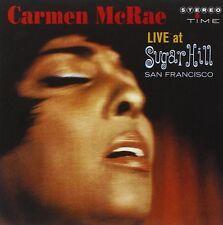 Carmen McRae LIVE AT SUGAR HILL  SAN FRANCISCO