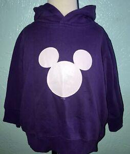 Rabbit Skins Disney Mickey Mouse Sweatshirt Hoodie Gymboree 4T