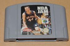N64 Nintendo 64 jeu module-NBA JAM 99-basket sport