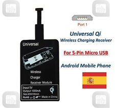 ★ Universal Qi Wireless Charging Receiver Card for 5-Pin Micro USB Android ★