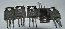 5 x RCA16599 NPN transistor TO220 16599