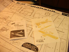 BO- 209-Monsun--Bauplan- Bauanleitung- Explosionszeichnung !!!!