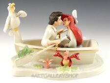Lenox DISNEY SHOWCASE LITTLE MERMAID Figurine MOONLIGHT KISS ARIEL & ERIC Mint