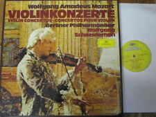 2740 116 Mozart Violin Concertos / Schneiderhan / BPO 3 LP box