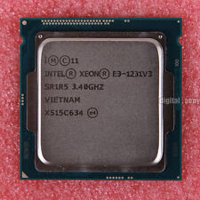 Intel Xeon E3-1231 v3 3.4 GHz Quad-Core CPU Processor LGA 1150 SR1R5