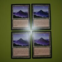 Dormant Volcano x4 Visions 4x Playset Magic the Gathering MTG