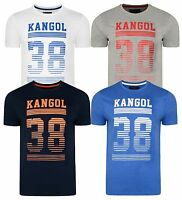 Kangol New Mens Handley Printed Slim Fit T-Shirt Branded Logo Print Top S M L XL